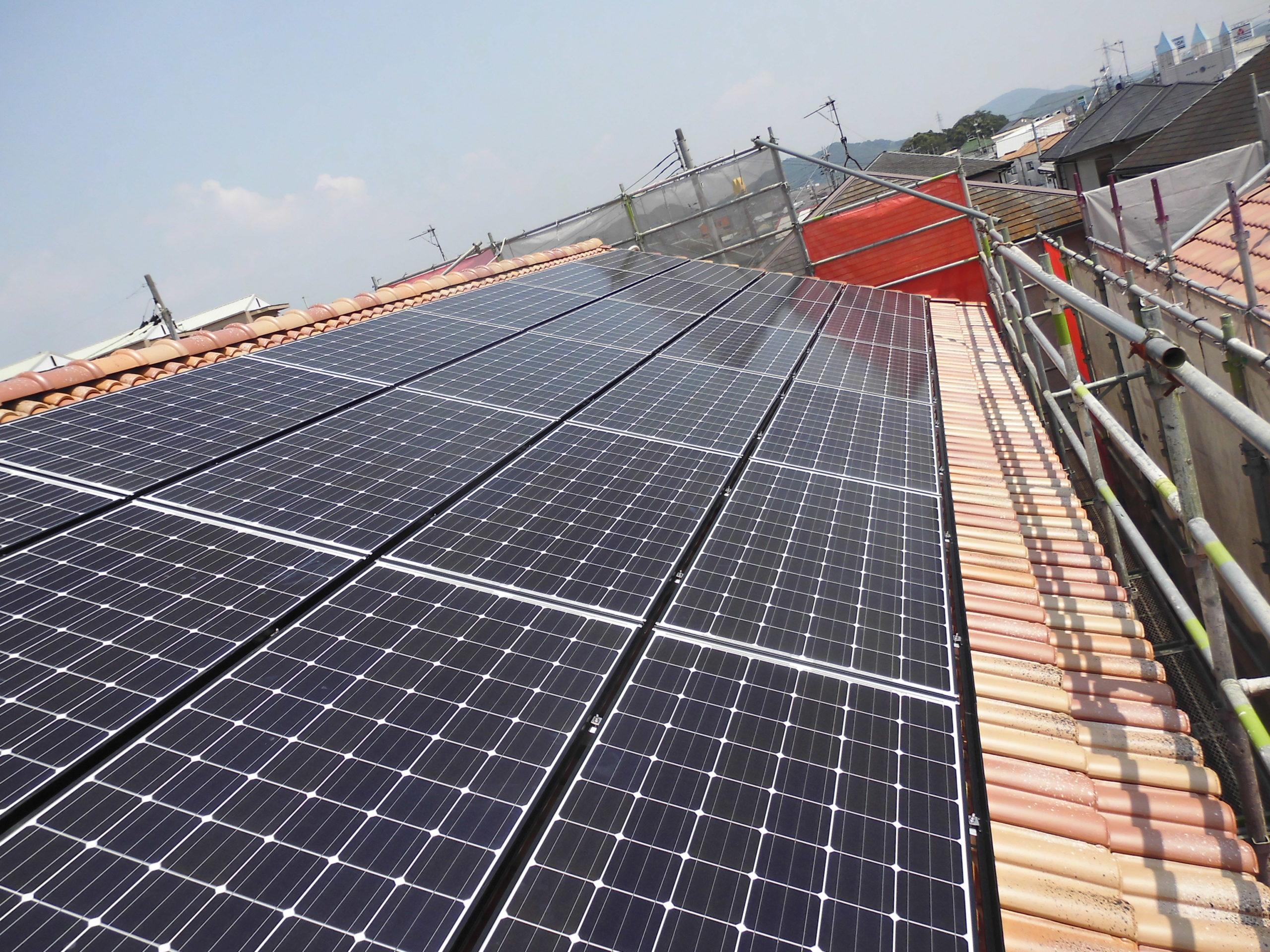 住宅用太陽光発電①